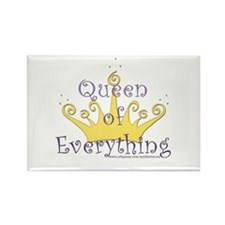Queen of Everything Rectangle Magnet (100 pack)