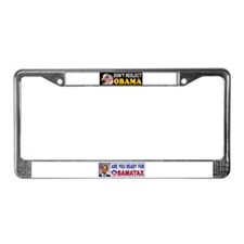 OBAMA THIEF License Plate Frame