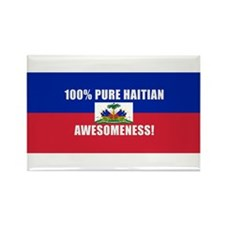 Cool Haitian Rectangle Magnet