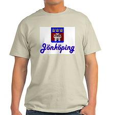 Jönköping County Ash Grey T-Shirt