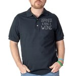 Man's Best Friend Organic Toddler T-Shirt (dark)