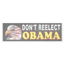 OBAMA GET OUT Bumper Sticker