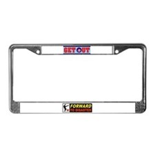 OBAMA GET OUT License Plate Frame