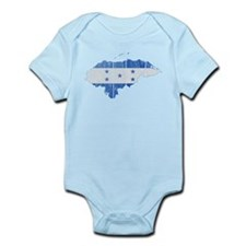 Honduras Flag And Map Infant Bodysuit