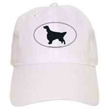 English Setter Silhouette Baseball Cap