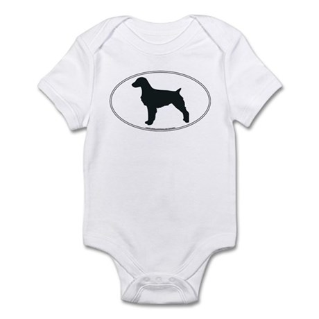 Brittany Silhouette Infant Creeper