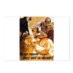 Keep Mum WWII Postcards (Package of 8)