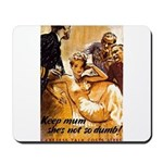 Keep Mum WWII Mousepad