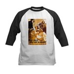 Keep Mum WWII Kids Baseball Jersey