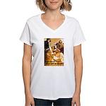 Loose Lips Sink Ships Women's V-Neck T-Shirt