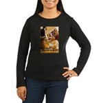 Keep Mum WWII Women's Long Sleeve Dark T-Shirt