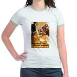 Keep Mum WWII Jr. Ringer T-Shirt