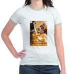 Loose Lips Sink Ships Jr. Ringer T-Shirt