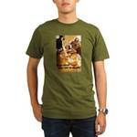 Keep Mum WWII Organic Men's T-Shirt (dark)