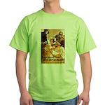 Loose Lips Sink Ships Green T-Shirt