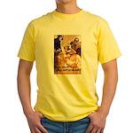 Loose Lips Sink Ships Yellow T-Shirt
