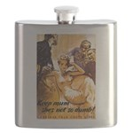 Keep Mum WWII Flask