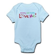 Mommy and Daddy Love Me Infant Bodysuit