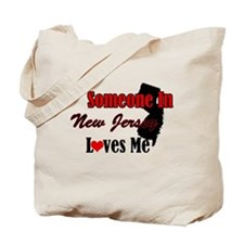 Someone In New Jersey Loves Me Tote Bag