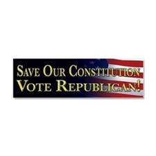 Save Our Constitution Vote Republican! Car Magnet