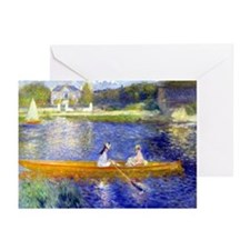 Renoir - The Skiff Greeting Cards (Pk of 20)