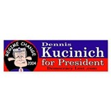 Kucinich Bumper Bumper Sticker