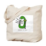 Snakes in Pain Tote Bag