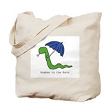 Snakes in the Rain Tote Bag