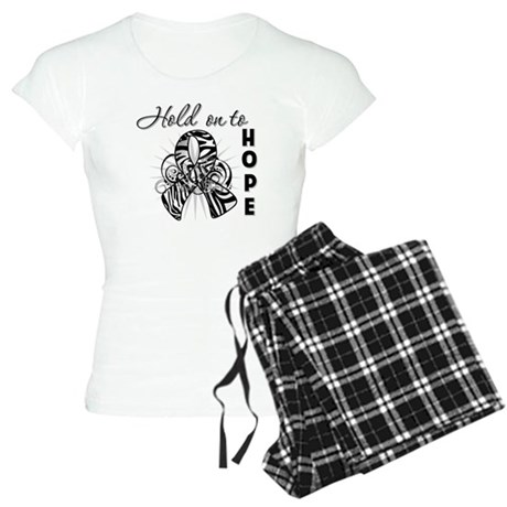 Carcinoid Cancer Hope Women's Light Pajamas