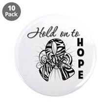 "Carcinoid Cancer Hope 3.5"" Button (10 pack)"