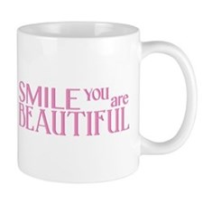 Smile you are Beautiful Mug