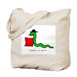 Snakes in Spain Tote Bag