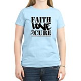 Faith Cure Carcinoid Cancer T-Shirt