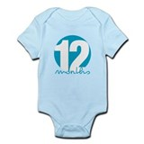 12 Month Identifier Infant Bodysuit