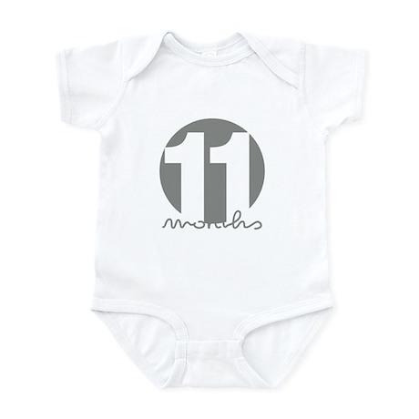 11 Month Identifier Infant Bodysuit