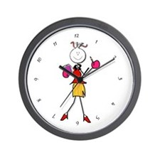 Secretary Mom Wall Clock