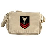 Navy PO2 Aviation Structure Mechanic Messenger Bag