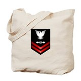 Navy PO2 Aviation Structure Mechanic Tote Bag