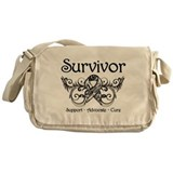 Carcinoid Cancer Survivor Messenger Bag