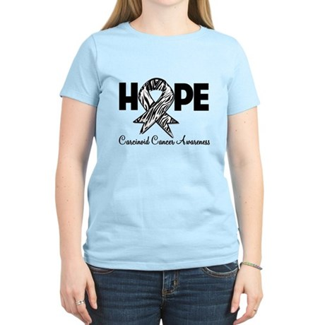 Hope Carcinoid Cancer Women's Light T-Shirt
