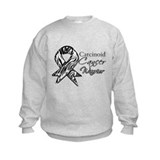 Carcinoid Cancer Warrior Sweatshirt