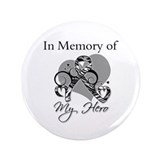 "In Memory Carcinoid Cancer 3.5"" Button (100 pack)"