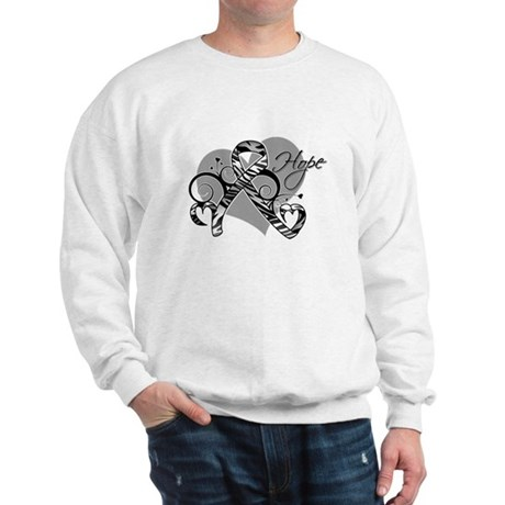 Carcinoid Cancer Hope Ribbon Sweatshirt