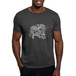 Carcinoid Cancer Hope Ribbon Dark T-Shirt