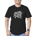 Carcinoid Cancer Hope Ribbon Men's Fitted T-Shirt