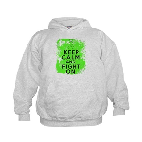 Lymphoma Keep Calm Fight On Kids Hoodie