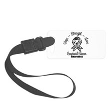 Hope Strength Carcinoid Cancer Luggage Tag