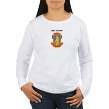Fort Jackson with Text T-Shirt