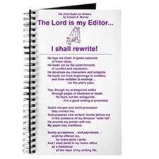 A Writer's Psalm on a Writer's Journal