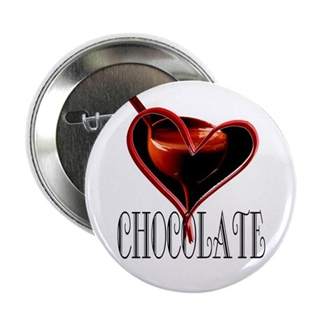 "CHOCOLATE 2.25"" Button (100 pack)"